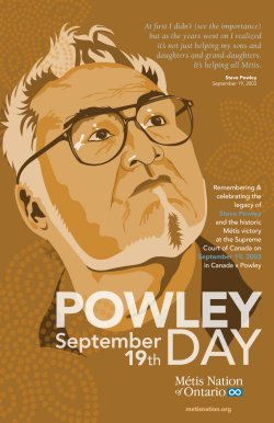 Powley Day poster